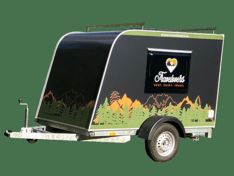 Buschbüchse Mini-caravane à louer